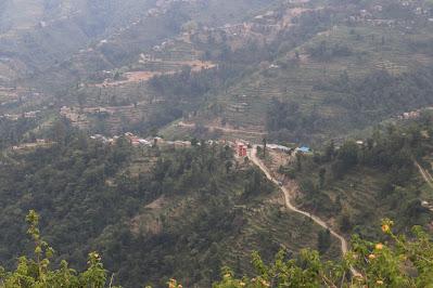 Kuttal Village as seen from Chapleti