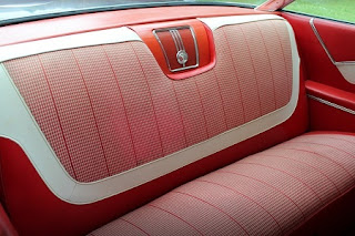 1960 Chevrolet Impala Sports Coupe Seat Rear