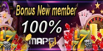 Bonus New Member 100%