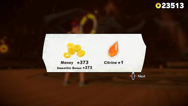 Ring Fit Adventure World 30 Battle Gym money rewards Pumpkin Soup smoothie bonus