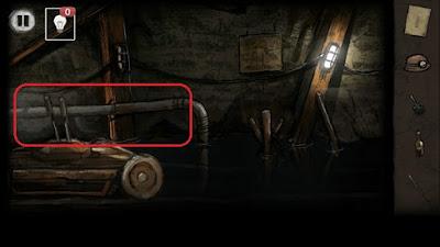 поднимаем трубу и ставим на место в игре выход из заброшенной шахты