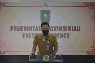 Kasus Covid-19 di Riau Bertambah 551 Kasus, 631 Sembuh, dan 14 Meninggal