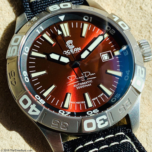 Ocean Crawler Dream Diver red