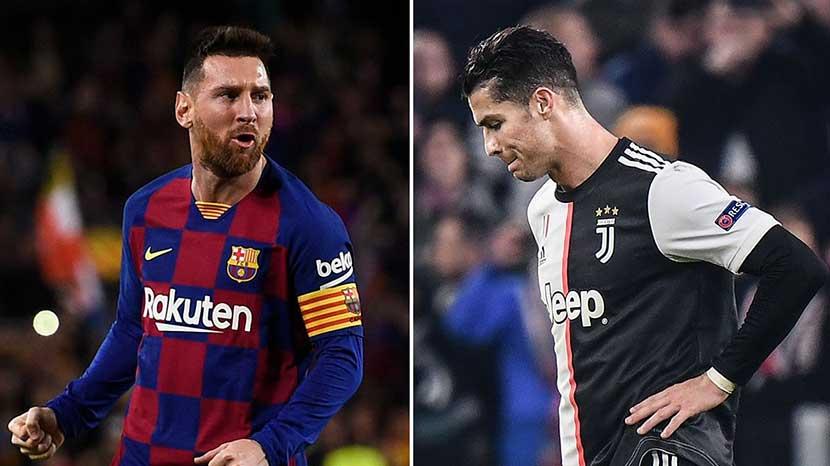 Messi dan Ronaldo Disarankan Pindah ke Liga Belarusia