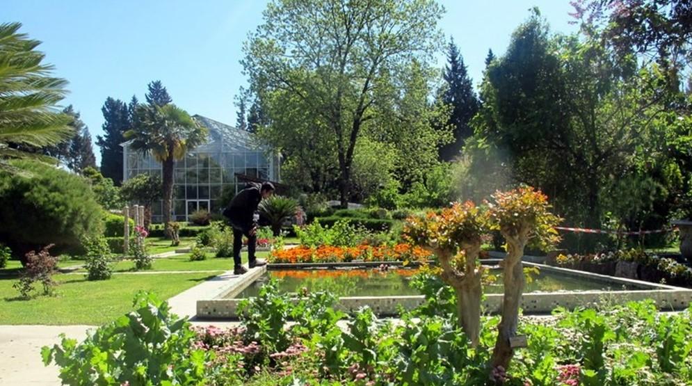izmir balayaı için romantik yerler botanik bahçe