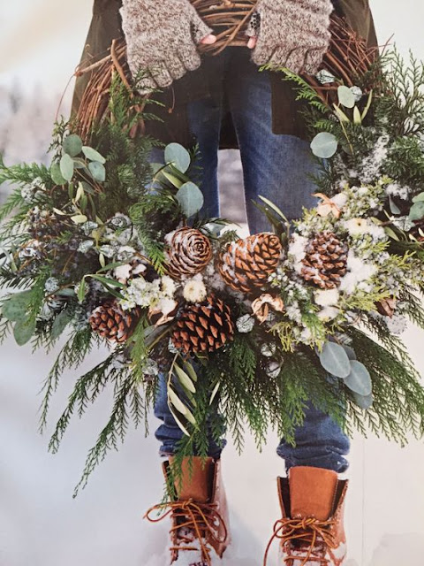Diy Christmas Farmhouse Winter Wreath Bells 320 Sycamore