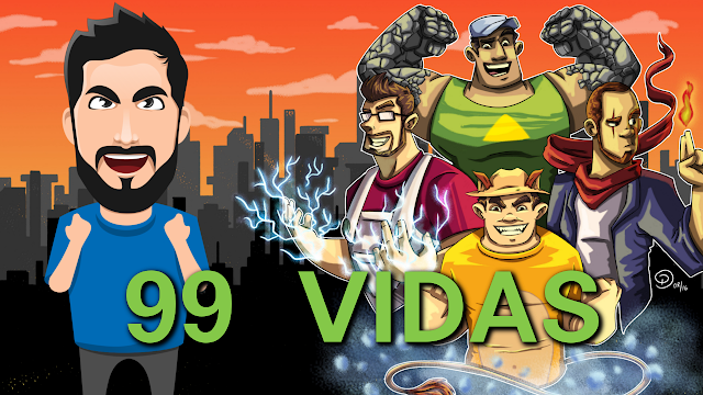 99 Vidas Gameplay