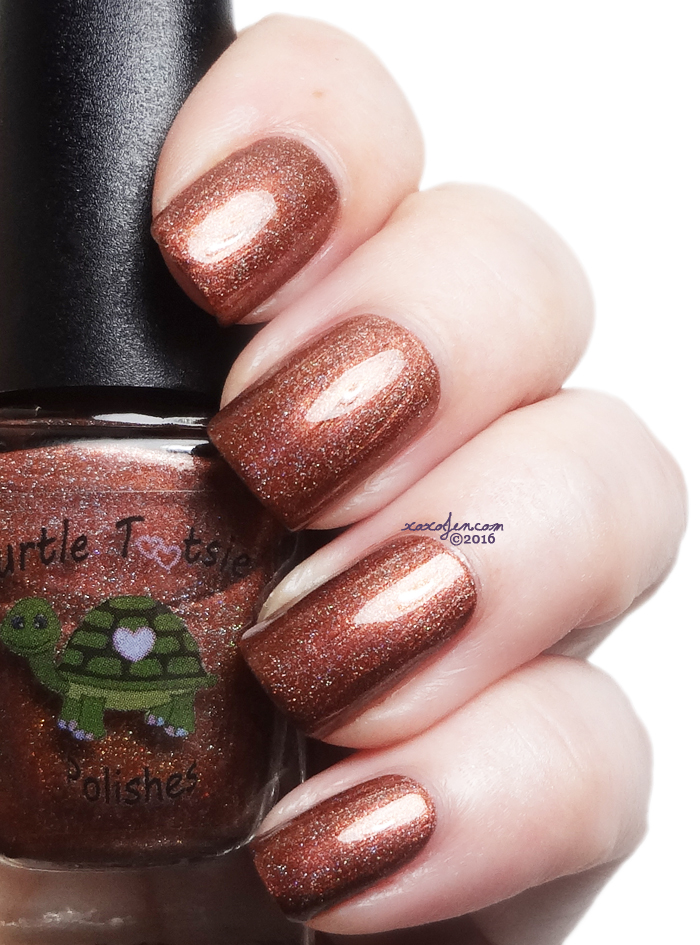 xoxoJen's swatch of Turtle Tootsie Cocoa Kisses