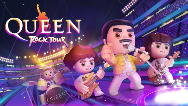"""""""Queen"""" lanza un juego de ritmo, rock y muchas canciones para dispositivos móviles"""