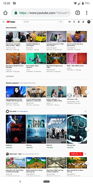 youtube desktop login sign in