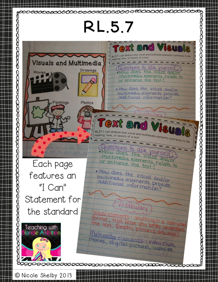 Teaching with Blonde Ambition: 5th Grade Reading Interactive