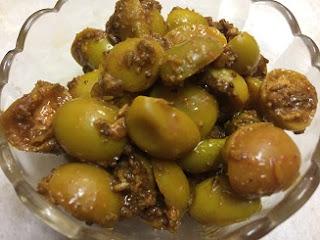 Image of Karonda (Carissa Carandus) pickle