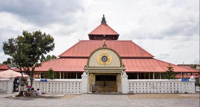 Masjid Gede Keraton Jogjakarta