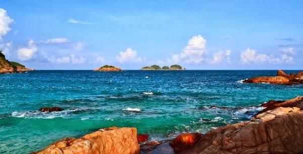 Des têtards à Singapour et en Asie!: Redang Island. c'est beau la vie!