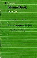 1977 Iceland notebook
