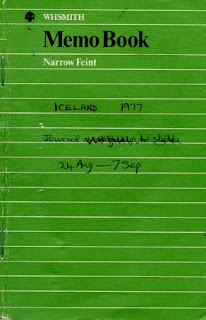 Iceland Notebook 1977