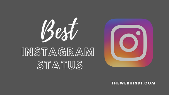 Best Instagram Attitude Status in Hindi 2020