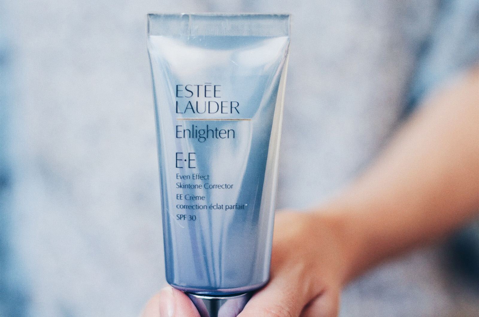 estee lauder ee creme enlighten eclat avis test swatch