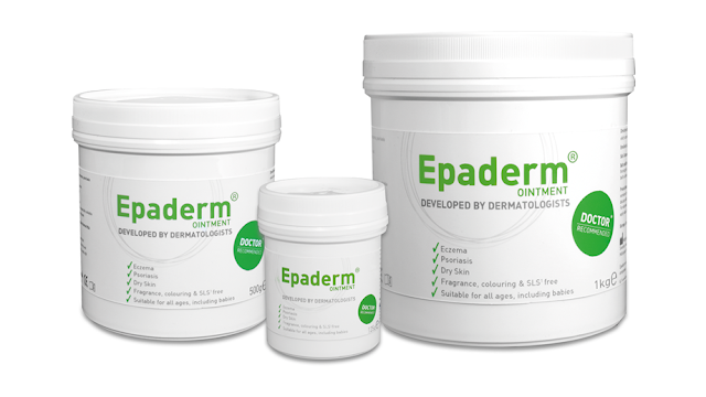 Epaderm products #OneTwoFreeYourSkin