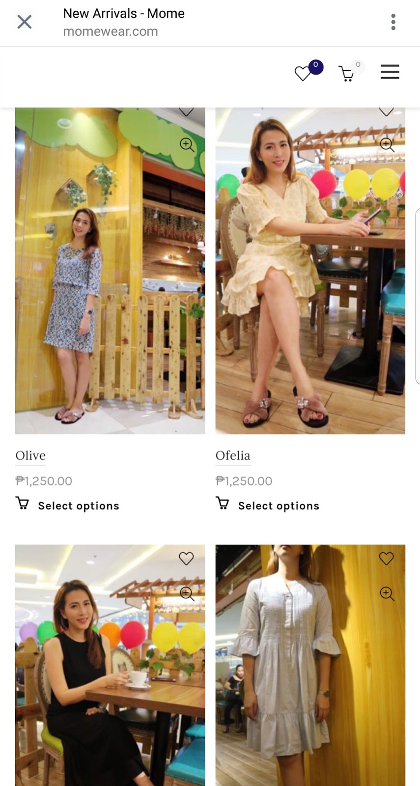 c5821f510d89d You really don't need to spend much on maternity wear. There is a lot of  good but affordable brands especially local ones. One of them is Mome.