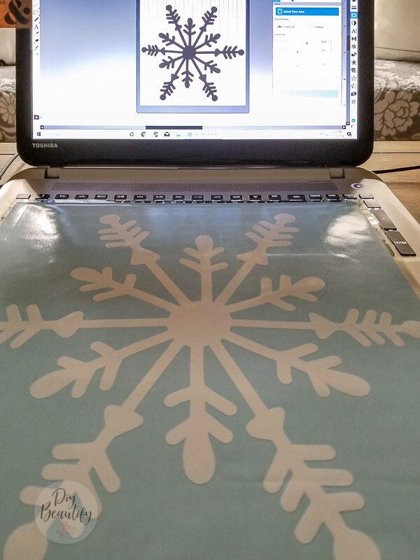 create snowflake in Silhouette