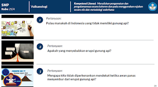 SMP Rabu 29/4 Vulkanologi