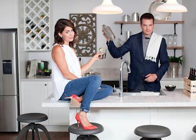 Jillian Harris e Todd Talbot em cena da série - Divulgação