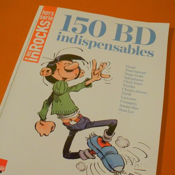 150 BD INDISPENSABLES - HORS SERIE INROCKS
