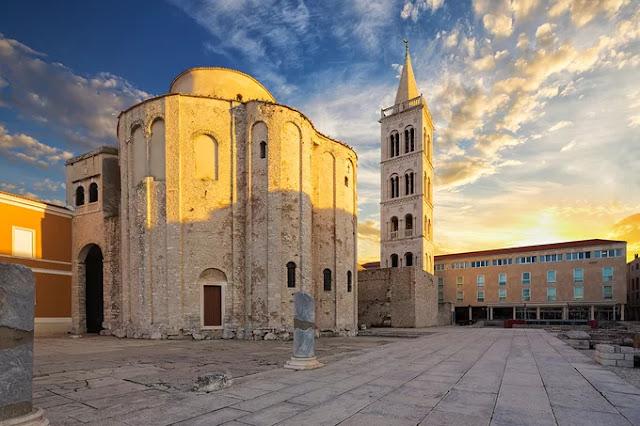 Zadar city, Croatia.