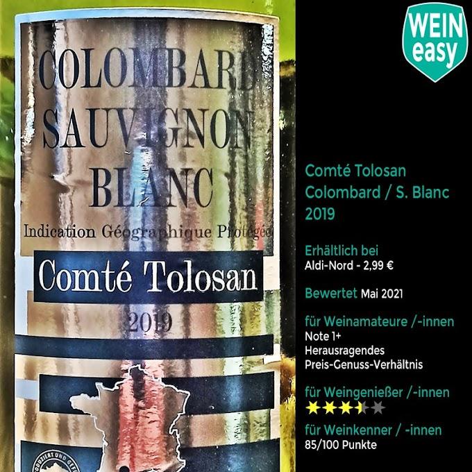 Comté Tolosan  Colombard / Sauvignon Blanc IGP 2019