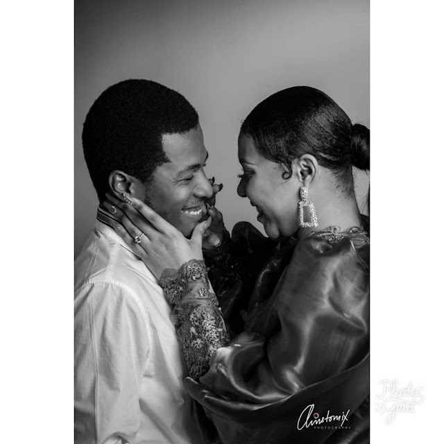 Samuel Ajibola Aka Spiff And His Girlfriend, Sandra, Are Engaged