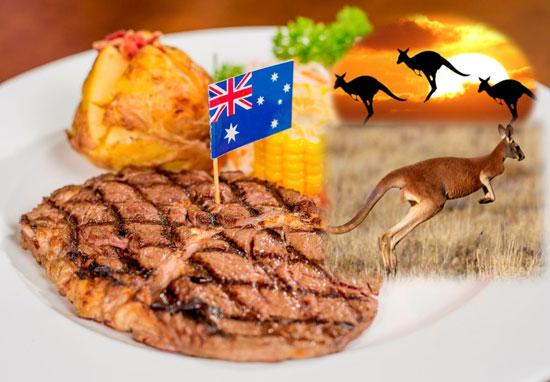 Đặc sản Úc Chuột túi thịt Kanguru nướng