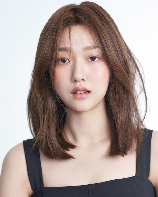 Medium Length Korean Hairstyle