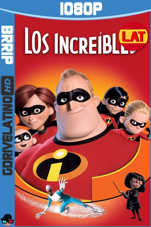 Los Increíbles (2004) BRRip 1080p Latino-Ingles MKV