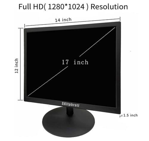 SKitphrati 17 Inch PC LED Monitor