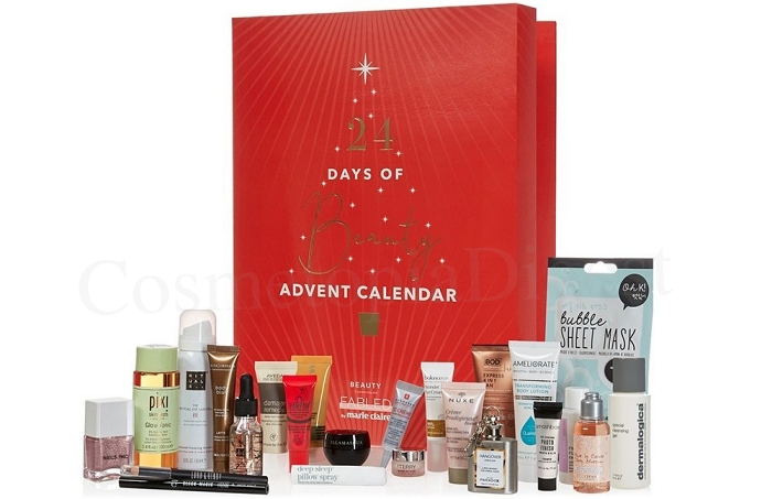 NEXT X FABLED BY MARIE CLAIRE Beauty ADVENT CALENDAR spoilers and contents