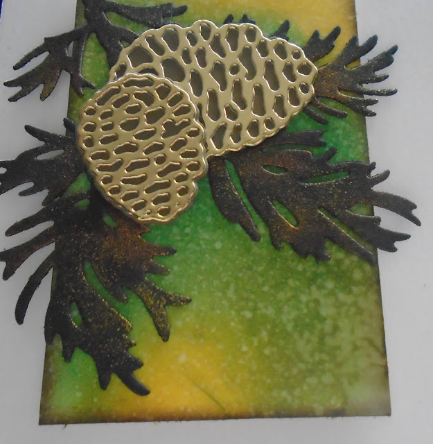 Craftyduckydoodah!, Peaceful Boughs, Beautiful Boughs Dies, Susan Simpson UK Independent Stampin' Up! Demonstrator, Supplies available 24/7 from my online store, Christmas 2019,