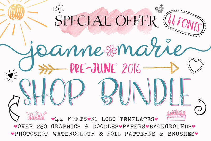 Font Bundle - Shop Bundle