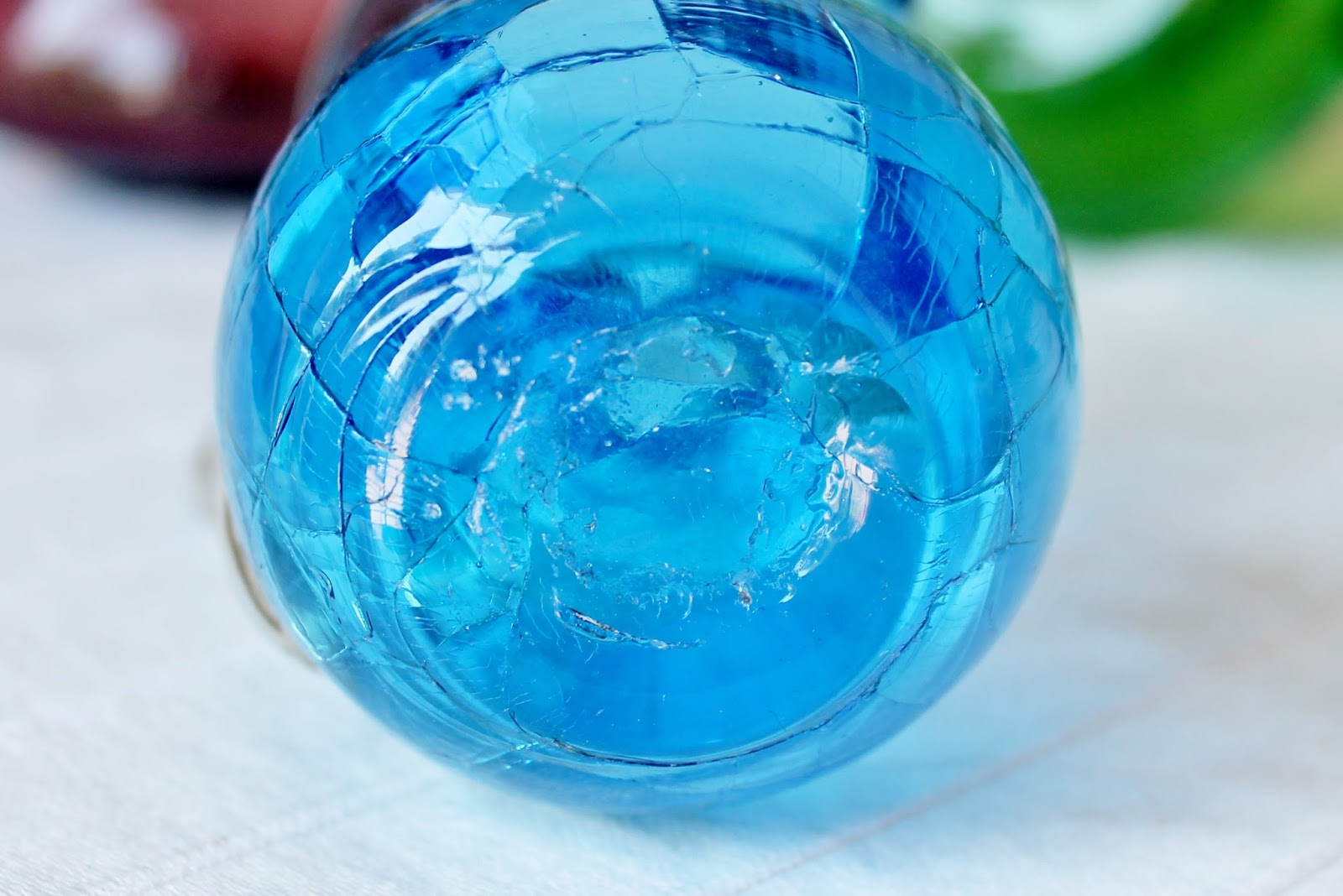 A Cool Collectible: Crackle Glass