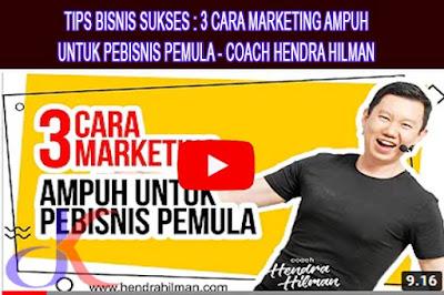 Menjalankan bisnis   Meningkatkan penjualan dan pemasaran