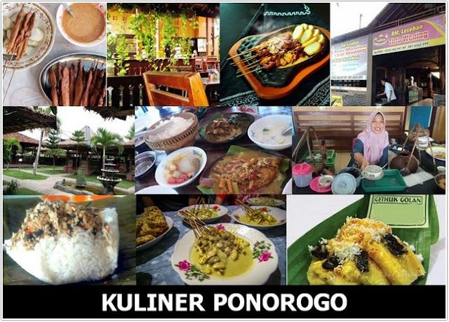 Top 10 Kuliner Ponorogo