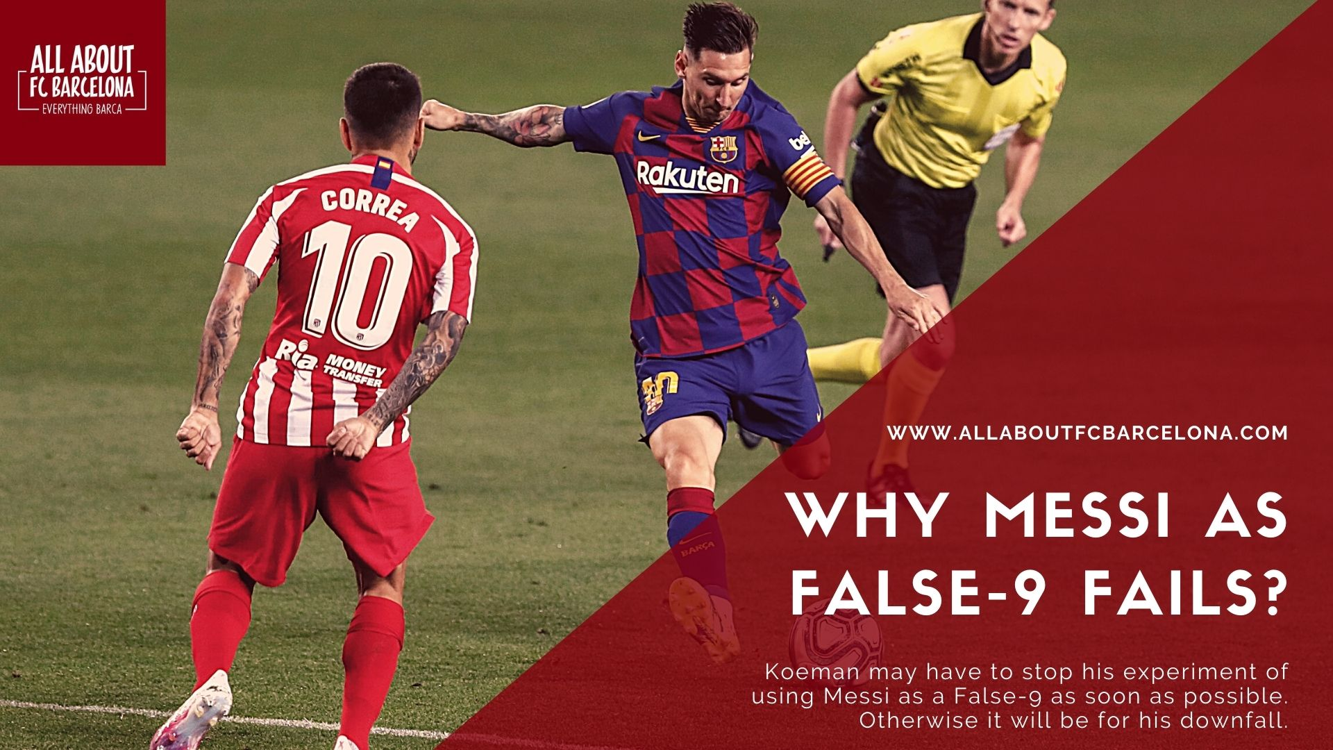 Why Messi as False-9 Experiment should Stop Immediately!