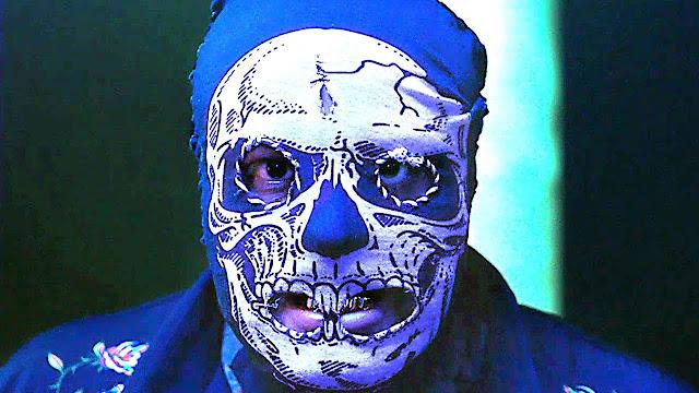 skull masked man