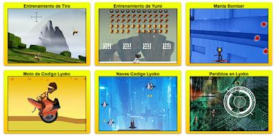 Juegos de Code Lyoko en español
