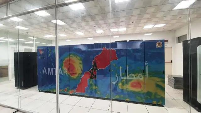 AMTAR أقوى حاسوب على مستوى مراكز الأرصاد الجوية بأفريقيا