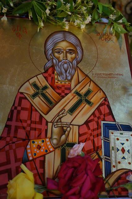 Αποτέλεσμα εικόνας για αγιος αθανασιος χριστιανουπολεως