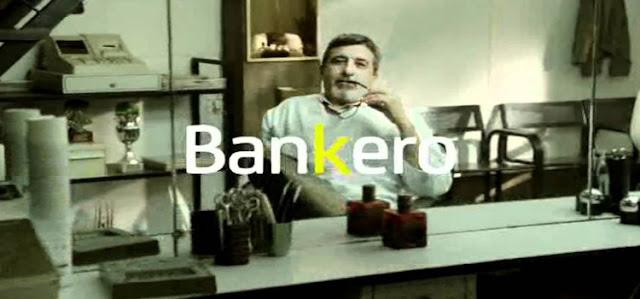 peluquero banquero publicidad bankia
