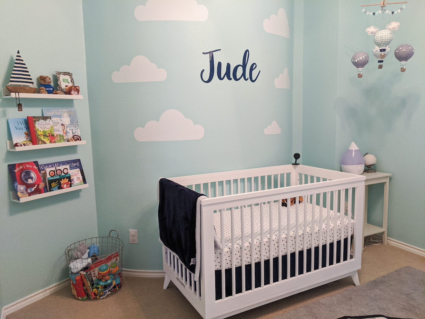 Jude's nursery.