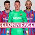 PES2017 FC Barcelona Facepack 2021-2022 | Full Facepack