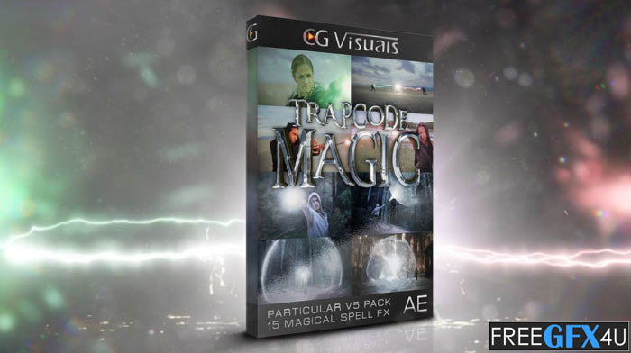 Trapcode Magic After Effects Project